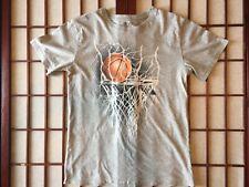 Children's Place Short Sleeve Basketball Hoop Gray Graphic Shirt Boys Size Xxl