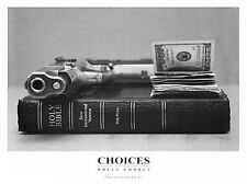 Choices Brian Forbes African American Art Print 18x24