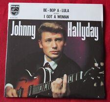 Johnny Hallyday, be bop a lula / i got a woman, CD single