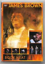DVD / JAMES BROWN - BODY HEAT (MUSIQUE CONCERT)