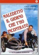 DvD MALEDETTO IL GIORNO CHE T'HO INCONTRATO - (1991) ***Carlo Verdone***...NUOVO