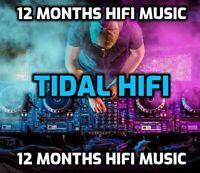 Tidal Hifi 12 Months (GLOBAL)