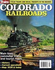 COLORADO RAILROADS - STEAM TRAINS AND DIESEL FRIEGHTS IN THE ROCKIES VG