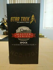 1/6 Scale Star Trek TOS Spock Figure MIB Quantum Mechanix First Edition