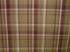 30 Metres Elgin Heather Wool Effect Thick Tartan Check Upholstery Curtain Fabric