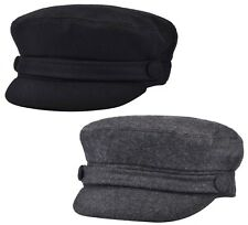 Womens Girls or Mens Fiddler Cap Ladies Baker Boy Hat Newsboy Cap Bretton Hat