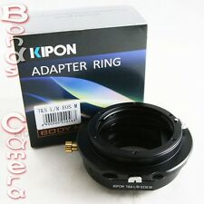 Kipon Tilt & Shift Adapter for Leica R lens to Canon EOS M EF-M mount Mirrorless