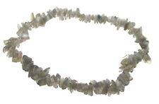 Labradorite Chip Gemstone Crystal Bracelet