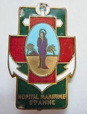 Insigne Service de Santé Marine  HOPITAL MARITIME SAINTE ANNE TOULON ORIGINAL 1