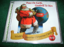 COCA'COLA  WORLD'S FAVORITE CHRISTMAS CAROLS;  COLLECTOR'S EDITION
