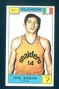 Figurina Campioni dello Sport 1969-70! N.311 Bisson! Pallacanestro! Nuova!!