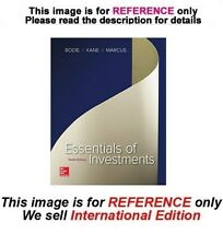 Essentials of Investments by Zvi Bodie, 10th edition (International Edition)