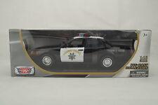 "1:18 Moteur Max - 2001 Ford Crown Victoria ""Autoroute Patrouille"" - Rare -"
