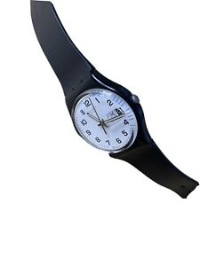 Swatch once again Watch Gb743 Analog Plastic Black