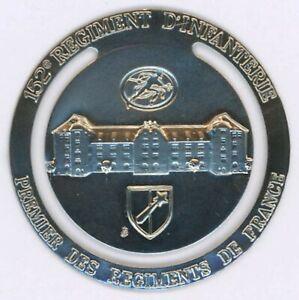152°° Régiment d'Infanterie Marque Page 40 mm