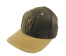 Browning Hudson Loden Mesh Hat Cap Snapback One Size NWT