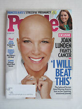 People V82N15 Joan Lunden I Will Beat This - 6-Oct-14
