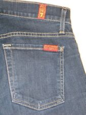 7 for all Mankind Jeans Skinny Bootcut Dark Sz 27