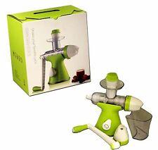 Smoothie Centrifuga 2 in 1 per la FRUTTA GELATO Estrattore di succo manuale per bambini