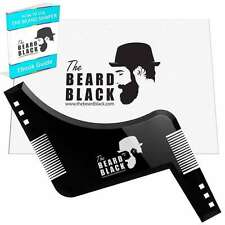 Beard Shaping Tool Shaving Template with Beard Shaper Guide for Line Up Edging