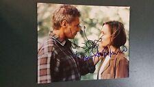 Harrison Ford & Kristin Scott Thomas autographed Photograph - coa