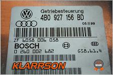 Audi Getriebesteuergerät , 4B0927156BD 4B0 927 156 BD 0260002682
