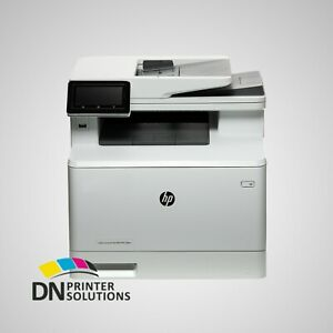 HP LaserJet Pro MFP M479fdw All-In-One Laser Printer W1A80A **NO TONER**