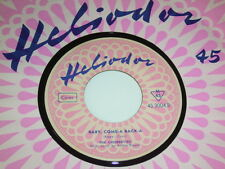 "7"" Chordettes Lollipop & Baby come a back a - 1958 Doo Wop Heliodor MINT # 2086"