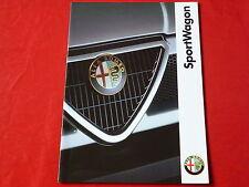 ALFA ROMEO 33 Sportwagon 1.4 IE L 1.7 IE Q4 Prospekt von 1993
