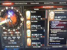 Diablo III 3 RoS PS3 - High End Gear Zauberer Barbar Hexendoktor Kreuzritter etc