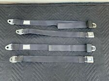 MERCEDES R107 450SL 560SL 380SL 350SL REAR BACK SEAT BELT SET
