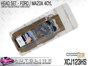 CROSSFIRE GASKET HEAD SET FOR MAZDA B2000 UD 1.6L 2.0L 4CYL 1982-1986 XCJ123HS