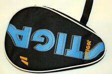 Stiga Table Tennis Racket Case / Bat Cover, Holds 1 bat and 3 balls, New