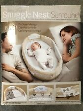 Baby Delight Snuggle Nest Surround Green 0-4m Infant Sleeper Light And Music