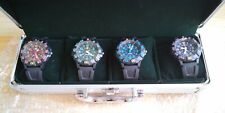 MOBILE SUIT GUNDAM ZEON WATCH 30TH ANNIVERSARY LIMITED EDITION SET 4 WATCHES