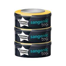 Tommee Tippee Sangenic Tec - Recambios para el contenedor (pack de 3) + REGALO d
