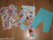 BNWT Girls NEXT Size 3-4 Years(104CM) TOP& 2 X LEGGINGS OUTFIT *HOLIDAY*
