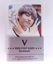 BTS V Bang Tan Boys Photo Mini Post Card 56 Sheets KPOP Card K-POP Korean K Pop