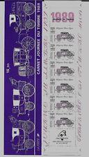 """Bande carnet 2578A de 1989 """"journée du timbre"""" Neuve et non pliée"""