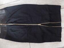 women's designer dress skirt Hi waisted pleated ASOS us 8 uk 12 eu 40 BLACK 10 S