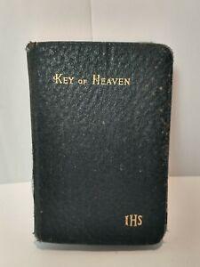 Key of Heaven Catholic Prayer Book Benziger Brothers, New York, 1926