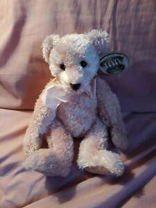 RUSS Amram's Plush Pink Teddy Bear Toy BRIANNA 100 Anniversary with Tags 24011