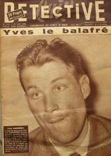 Qui ? Détective n°516 du 21 mai 1956 - Yves Gamonet - Le Cheylard - Le Puy