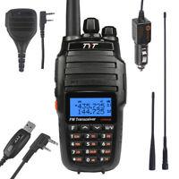 TYT UV8000E V/UHF <10/5W HP> Cross Band Ham Walkie Talkie +2x Antenna 1x Speaker
