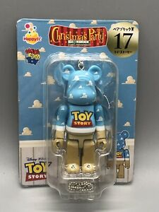 RARE Medicom 100% Bearbrick Disney Toy Story Happy Kuji USselle Xmas ornament