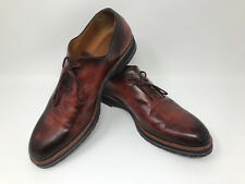 Berluti Alessio Whole-Cut Leather Oxford Shoes Made In Italy Size 9.5 MSRP $1510