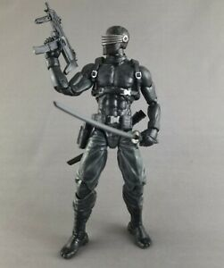 Custom Snake Eyes GI Joe Classified Articulated Icons Solitaire