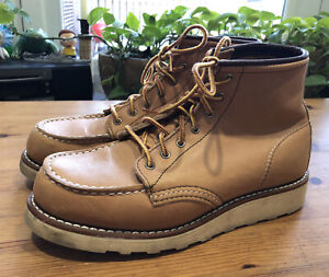 """Red Wing Women's 3374 Heritage 6"""" Moc Toe Boot 6.5 B"""