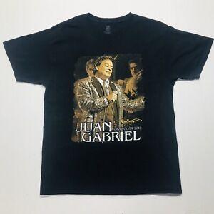 Juan Gabriel Juanga El Divo De Juarez Concert Tour Shirt Gira Volver Size Large