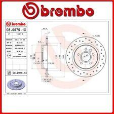 Set di 2 - Posteriore Disco Freno Brembo 08.A725.10